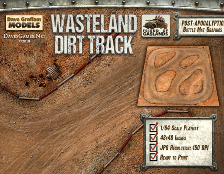 Pousse Plomb: Wasteland Dirt Track