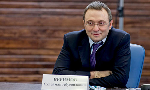 Sulaiman Kerimov Dengan Total Kekayaan USD 6,2 miliar