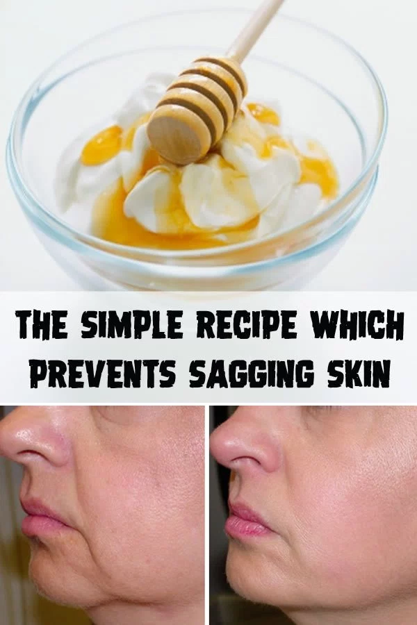 The simple recipe which prevents sagging skin