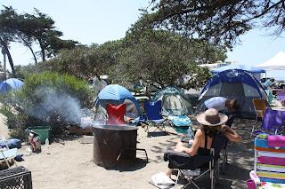 campsite San Elijo State Beach