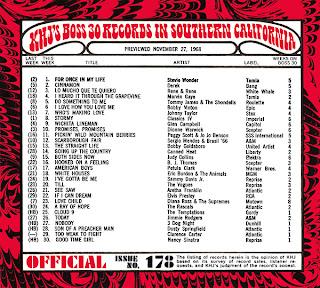 KHJ Boss 30 No. 178 - November 27, 1968