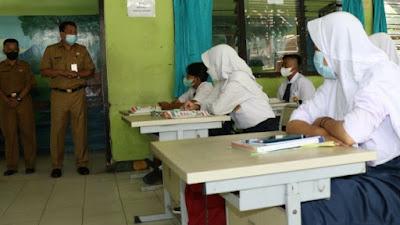 Simulasi PTM Serentak tingkat SMP dan SMA di Tangerang hingga 18 September