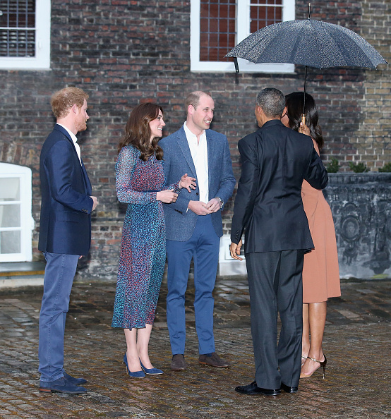 Royal Family Around The World: The Obamas Dine At