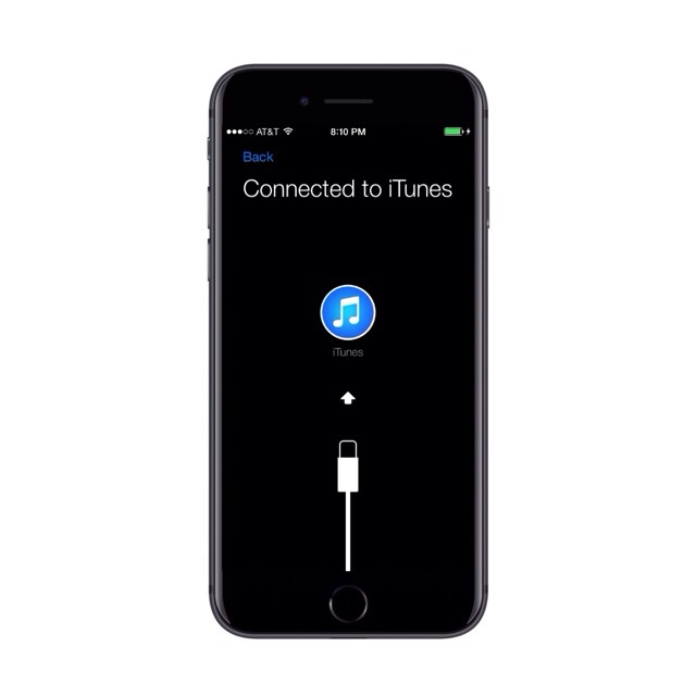 IPhone Connected to itunes