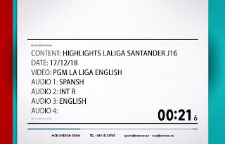 La Liga Santander Biss Key Eutelsat 10A 20 December 2018