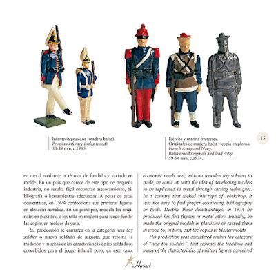 Soldados de juguete fabricados en América del Sur y México