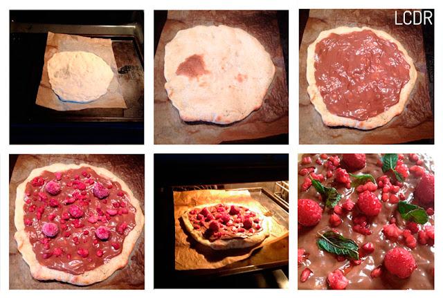 Receta de pizza con masa casera 05
