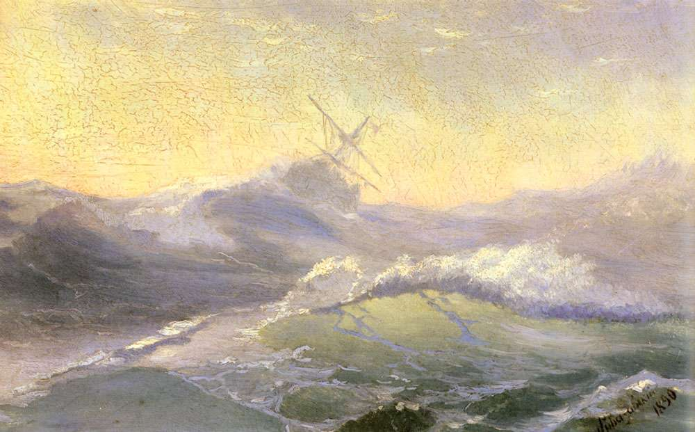 01-Energizing-Volna-1890-Ivan-K-Aivazovsky-Иван-К-Айвазовский-Paintings-of-the-Sea-from-1840-to-1900-www-designstack-co