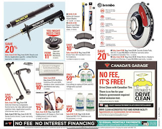 Canadian tire tires flyer Prices Aug 24 - 31, 2017