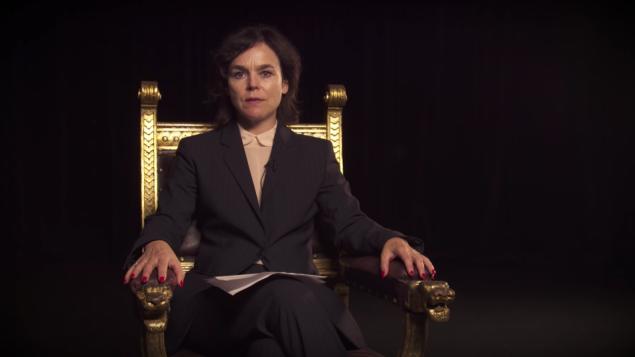 Pia Maria Roll en un vídeo difamatorio contra Israel