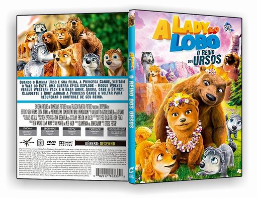 DVD – A Lady e o Lobo O Reino dos Ursos – ISO