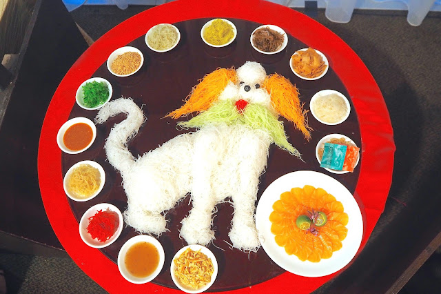 Chinese New Year Yusheng Year of the Dog