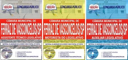 Apostila Concurso Câmara de Ferraz de Vasconcelos 2018