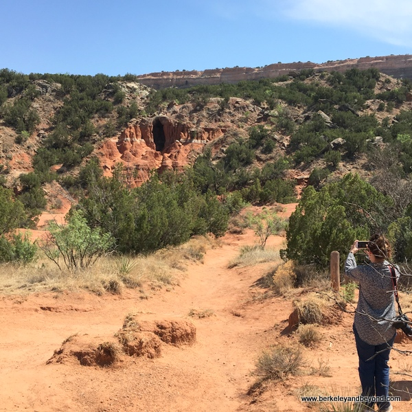 The Big Cave at Palo Duro Canyon State Park in Canyon, Texas
