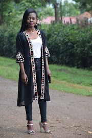 How To Style A Black Embroidered Kimono
