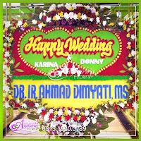 Toko Bunga Papan Pernikahan Jakarta