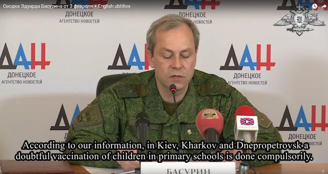 WHO organizuje biologický útok na Ukrajinu: povinné očkování 5 miliónů dětí proti obrně