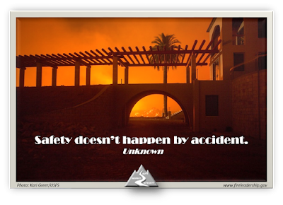 Safety doesn't happen by accident. - Unknown