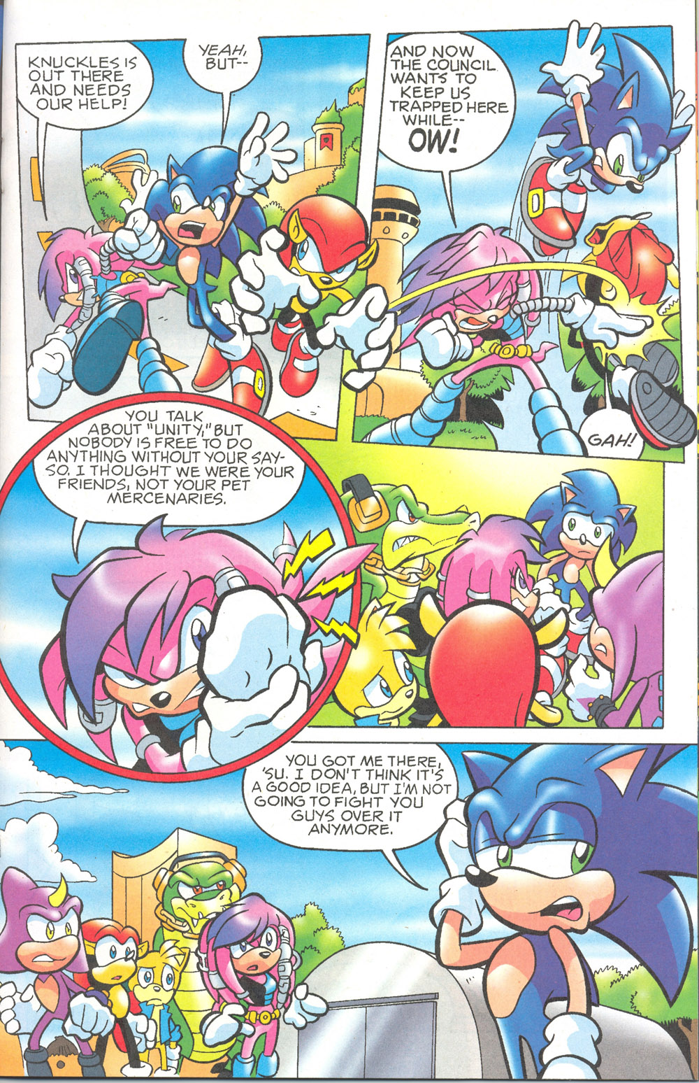 Read online Sonic The Hedgehog comic -  Issue #180 - 14