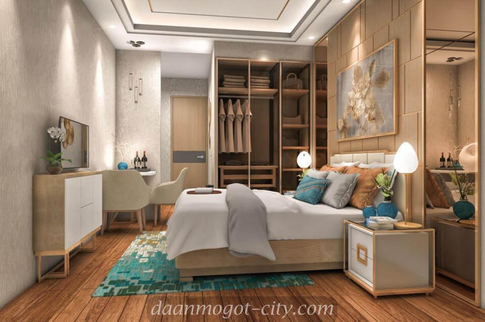 Design Interior Apartemen Studio contoh design interior apartemen damoci daan mogot city