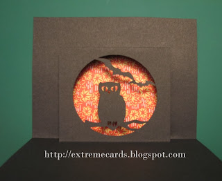 pop up owl card