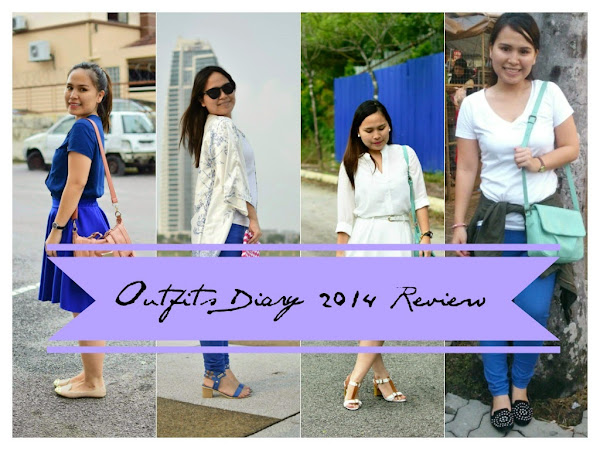 Outfit Diary : My outfits diary 2014 review!