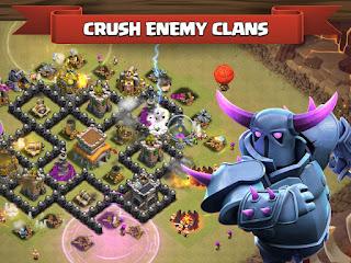 Download Clash of Clans Apk v8.709.23 Mod Money