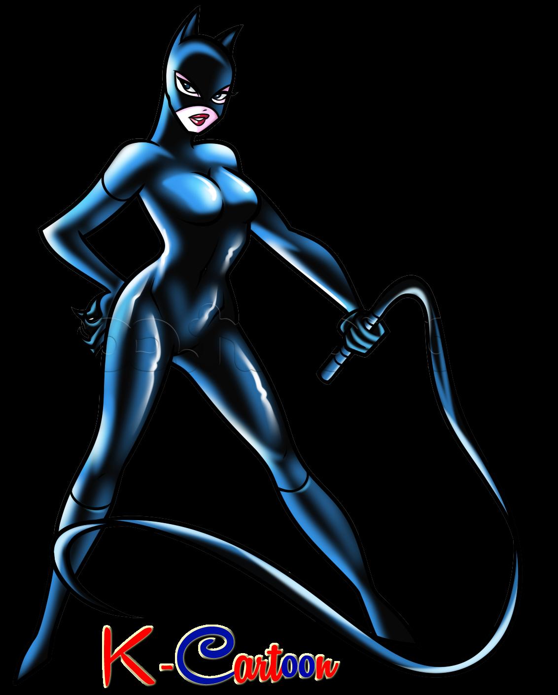 Gambar Cat Woman Vector Terbaru HD  KKartun