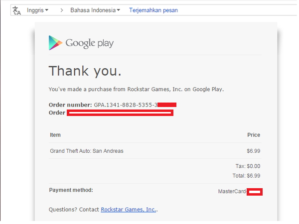Cara Order Menggunakan CC/PP Hasil Carding di Google Playstore