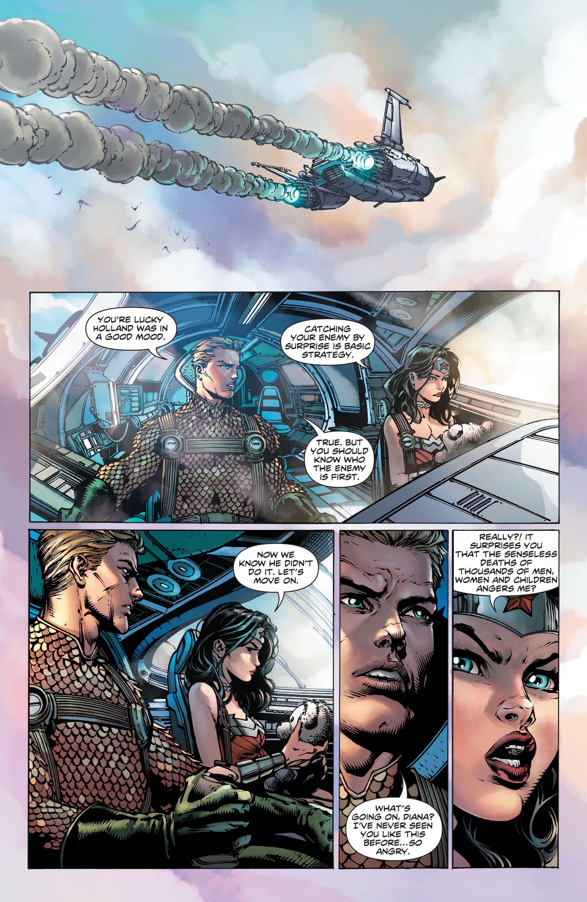 Read online Wonder Woman (2011) comic -  Issue #36 - 16