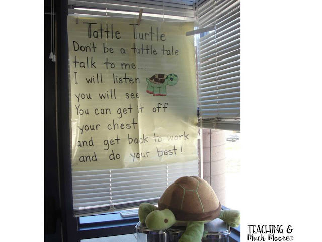 Do you need to reduce tattling in your classroom?  I have an idea for you!