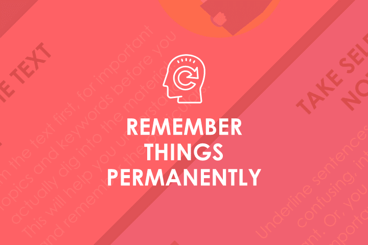 5 Ways to Remember Anything Permanently [Infographics]
