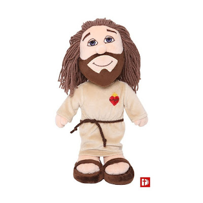 Religijne zabawki dla dzieci, maskotki święte postacie
