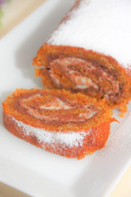 brazo-de-gitano-de-zanahoria, chocolate-carrot-swiss-roll