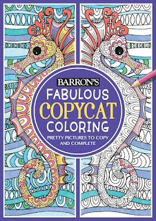 Fabulous Copycat Coloring: Pretty Pictures to Copy and Complete