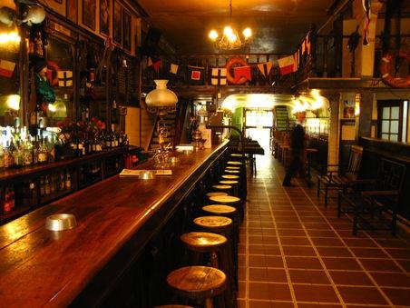 Bar La Regatta em Valparaíso