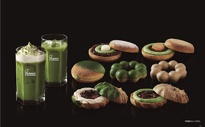 Premium Matcha Sweets at Mister Donut Japan