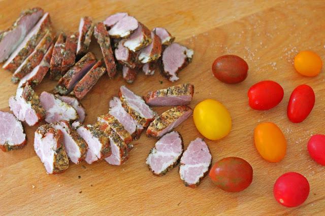 Απάκι Τηγανιά με Ντοματίνια / Apaki stir fry with cherry tomatoes