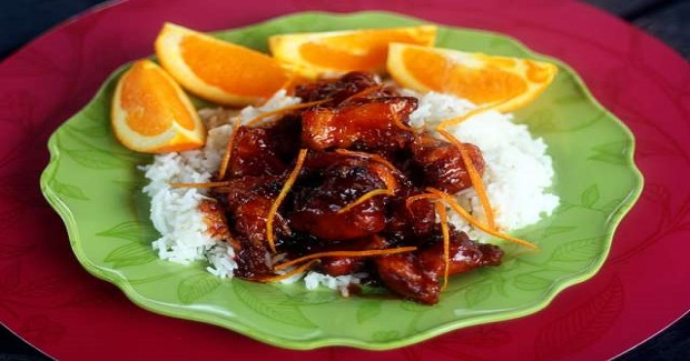 Orange Peel Chicken Recipe