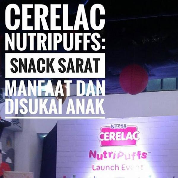 CERELAC NutriPuffs: Snack Sarat Manfaat dan Disukai Anak