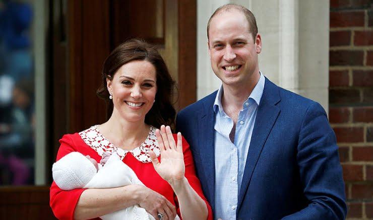 Foto Royal Baby: il nome del terzo figlio di Kate Middleton è Louis Arthur Charles