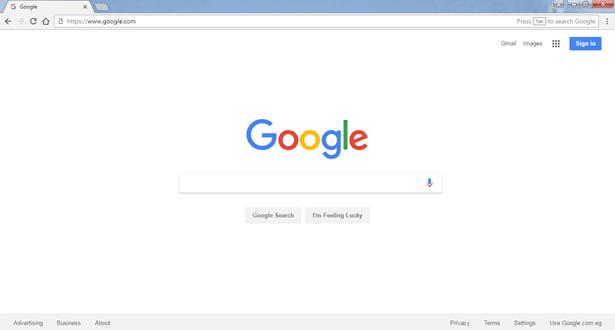 برنامج جوجل كروم