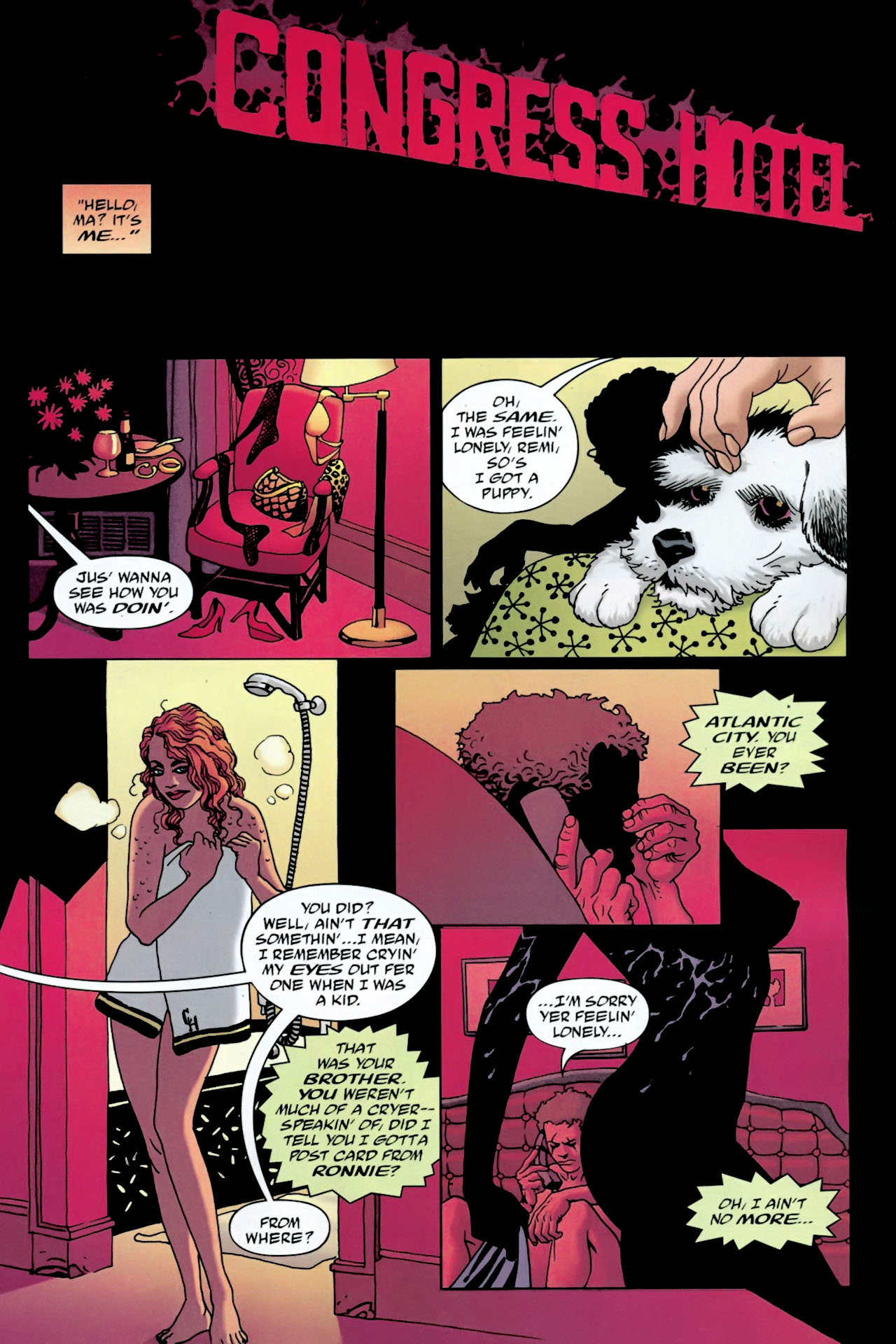 Read online 100 Bullets comic -  Issue #90 - 2
