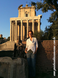 guia de roma portugues foro romano - Igreja de Santa Maria Antiqua no Foro Romano