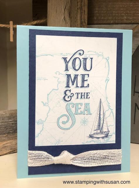 Stampin' Up!, www.stampingwithsusan.com, Come Sail Away Memories & More Card Pack
