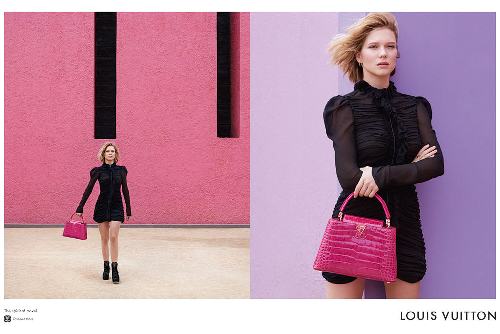Léa Seydoux for Louis Vuitton 'Spirit of Travel' Spring/Summer 2016