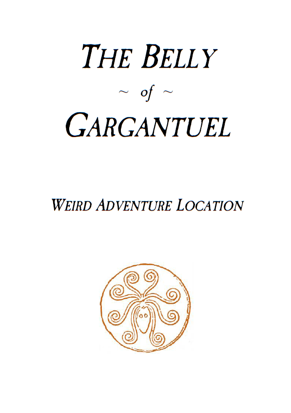 Cover of The Belly of Gargantuel