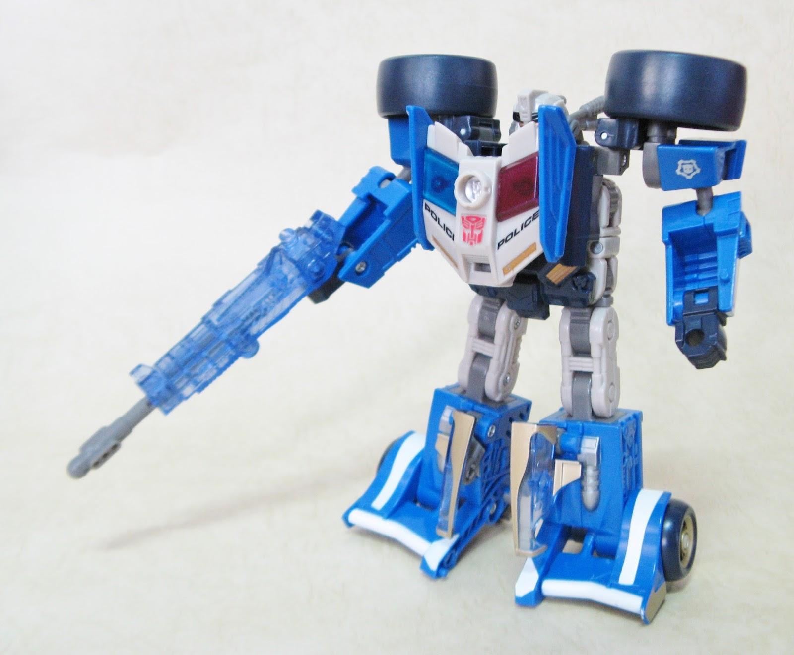 TRANSFORMERS ENERGON Deluxe class Prowl變形金剛能量源之戰豪華級潛行獸