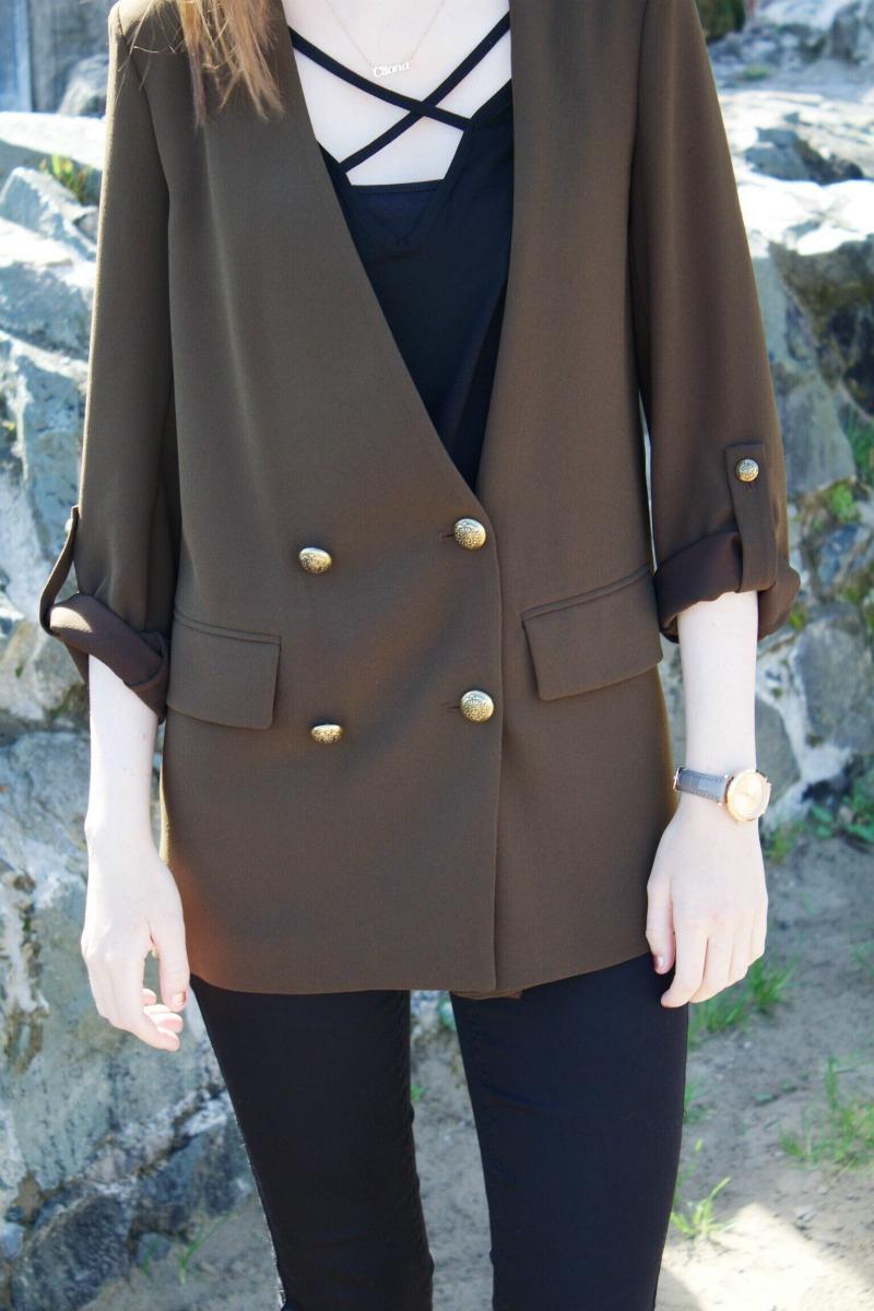 Zara blazer outfit