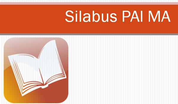 Silabus MA Mapel PAI dan Bahasa Arab Kelas X XI Kurikulum 2013 Revisi 2017